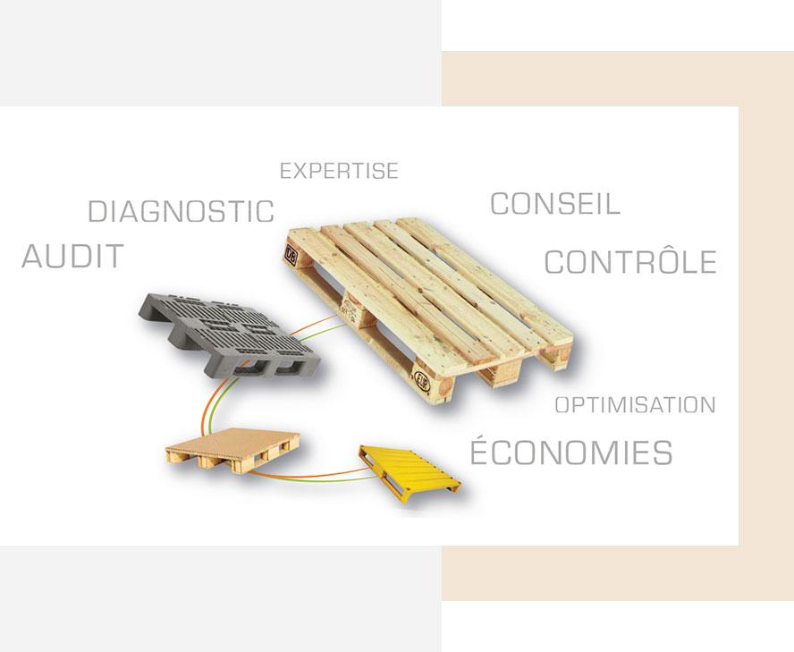 VALORPAL - Gestion globale de vos palettes et supports de manutention